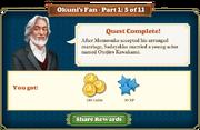 Quest Okuni's Fan Part One 5-Rewards