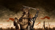 Jaime Lannister by Mike Capprotti, Fantasy Flight Games©