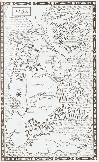 Mapa El Sur JdT