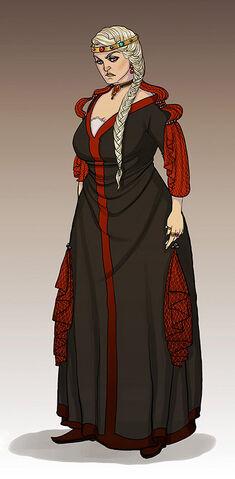 Archivo:Rhaenyra Targaryen by Enife©.jpg