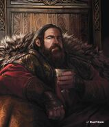 Robert Baratheon by Magali Villeneuve©