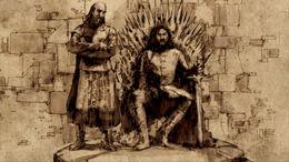 Rey Robert y Jon Arryn HBO.jpg