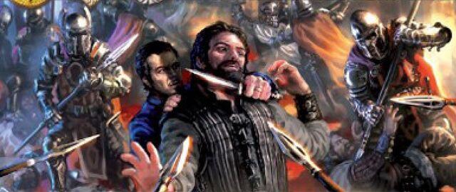 Archivo:King's Landing Coup by Lukasz Jaskolski, Fantasy Flight Games©.jpg