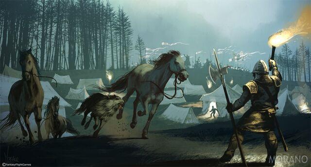 Archivo:Battle of Oxcross by Tomasz Jedruzek, Fantasy Flight Games©.jpg