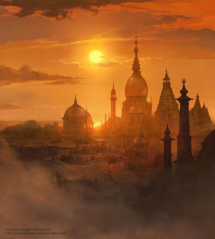 Archivo:Tower of the Sun by Juan Carlos Barquet, Fantasy Flight Games©.jpg