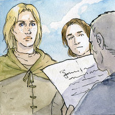 Archivo:Brienne and Tarly by Elisa Poggese©.jpg