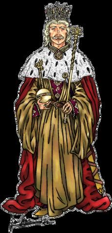 Archivo:Aenys Targaryen by Oznerol-1516©.png