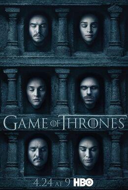 Afiche promocional Sexta Temporada GoT HBO