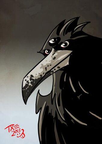 Archivo:Cuervo de Tres Ojos by The Mico©.jpg