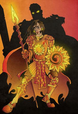 Archivo:Oberyn The Red Viper Martell by ~acazigot©.jpg