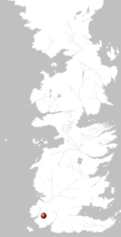 Mapa Tierras Altas