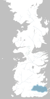 Mapa Mar de Dorne