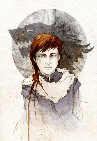 Archivo:Bran Stark by Elia Mervi©.jpg