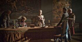 Tyrion en el Consejo Privado HBO