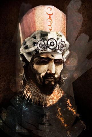 Archivo:Warlock of Qarth by Filipe Hattori©.jpg