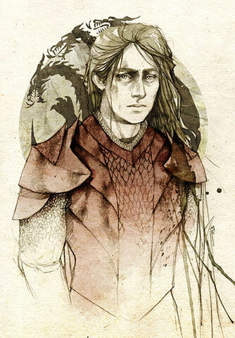 Archivo:Rhaegar Targaryen by Elia Mervi©.jpg