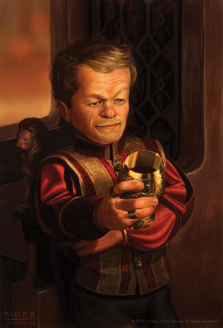 Archivo:Tyrion Lannister by Jake Murray, Fantasy Flight Games©.jpg