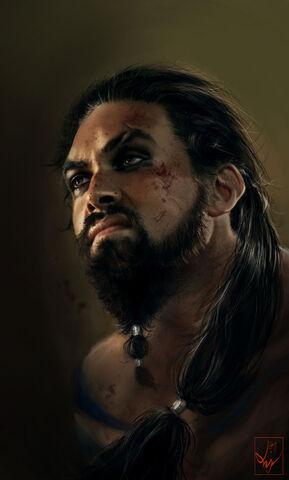 Archivo:Khal Drogo by Anja Dalisa©.jpg
