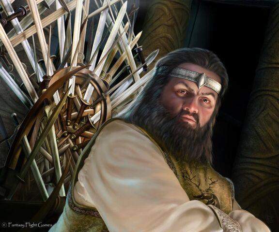 Archivo:Robert Baratheon by Tiziano Baracchi, Fantasy Flight Games©.jpg