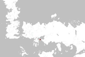 Mapa Ghozai