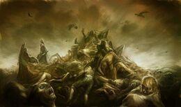 Death at Rhoyne by Arthur Bozonnet©