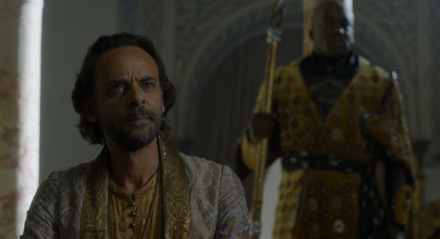 Archivo:Doran Martell y Areo Hotah HBO.png