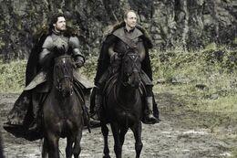Roose y Robb HBO