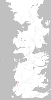 Mapa Escudo del Sur