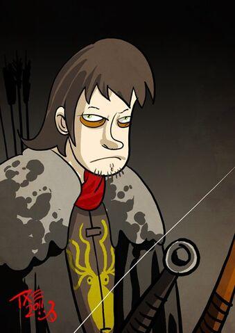 Archivo:Theon Greyjoy by The Mico©.jpg