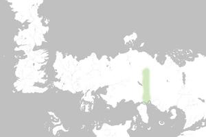 Mapa Montañas de los Huesos