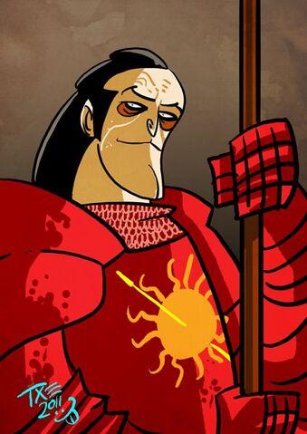 Archivo:Oberyn Martell by The Mico.jpg