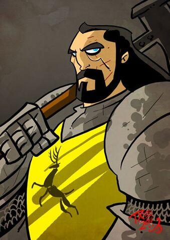 Archivo:Robert Baratheon 2 by The Mico©.jpg