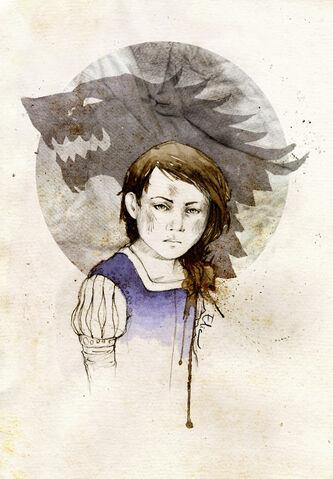 Archivo:Arya Stark by Elia Mervi.jpg