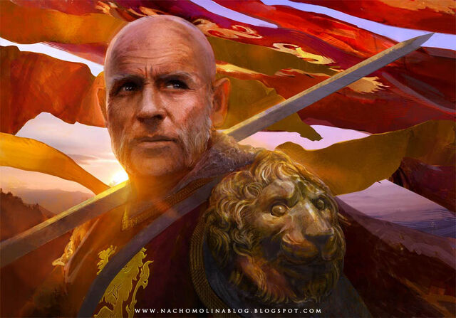 Archivo:Tywin Lannister by Nacho Molina, Fantasy Flight Games©.jpg