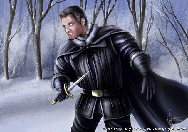 Archivo:Benjen Stark by Henning Ludvigsen, Fantasy Flight Games©.jpg