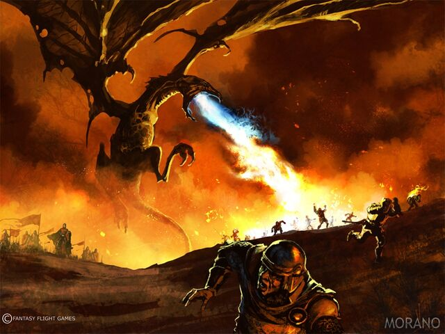 Archivo:Bathedin Flames by Tomasz Jedruzek, Fantasy Flight Games©.jpg