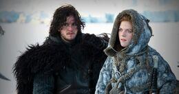 Jon con Ygritte HBO