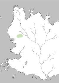 Mapa Colinas de Terciopelo