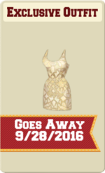 EXCLUSIVE FEMALE OUTFIT SIGN (GOLD STANDARD)