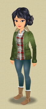 FEMALE OUTFIT (WALK IN THE PARKA)