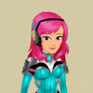 Mech Pilot Sakura Makeover Outfit