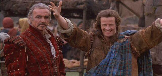 File:Sean Connery and Christopher lambert in the market scene in Highlander..jpg