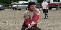 Scottish hammer throw (photos)
