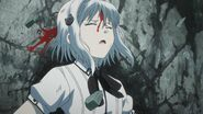 Koneko bleeding after Tannin's attack