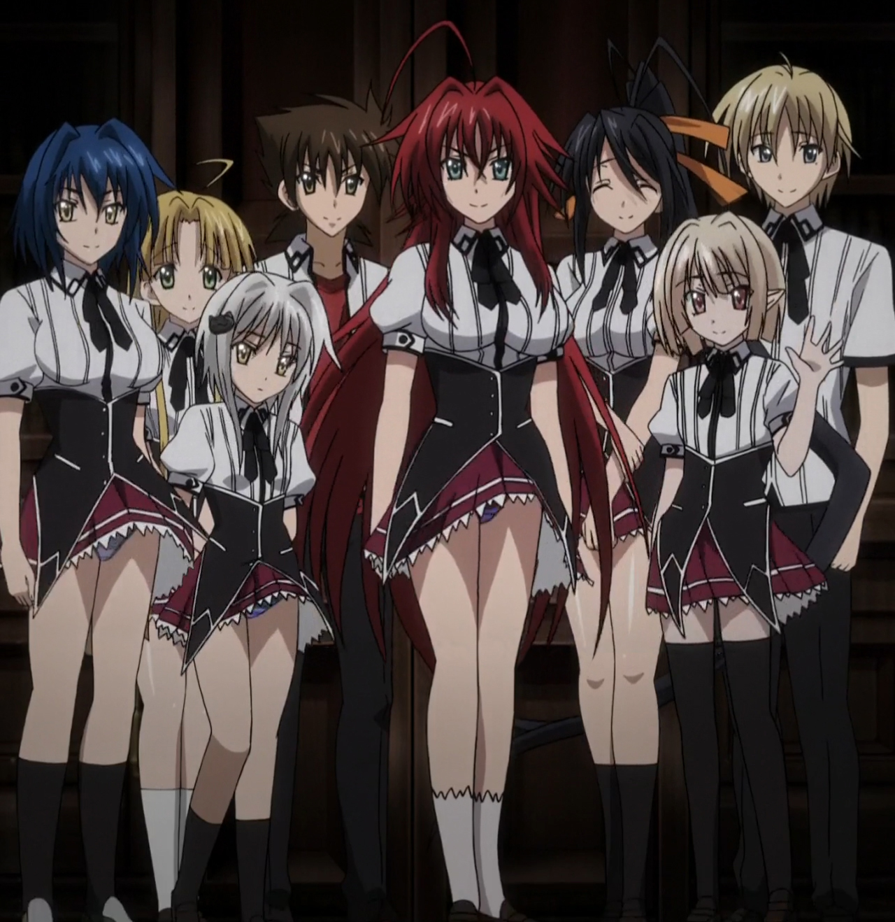 Image - Gremory Group Heading Off.jpg | High School DxD ...