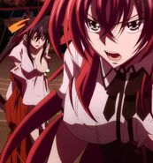 Rias Akeno injured