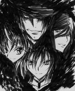 Fallen Angels Raynare & her Posse - Animator Sketch