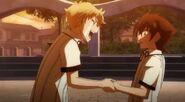 Saji and Issei
