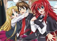 HS DxD - Clear File of Asia, Issei, and Rias