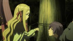 S2E2 Aria and Shinji